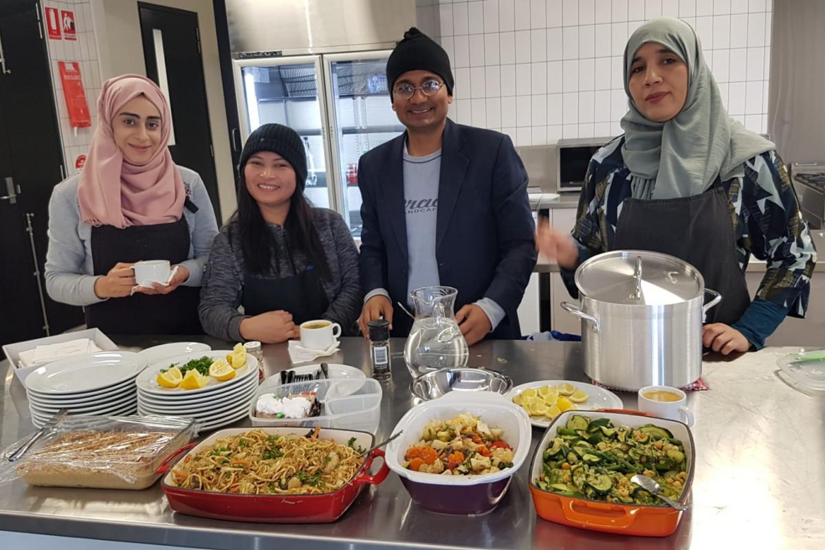 community kitchen westall