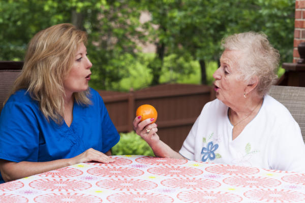 adult speech therapy